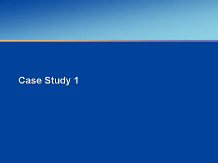 Case study nursing care plan
